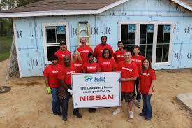 nissan titan jackson ms nissan donates 1m to habitat for humanity madison county