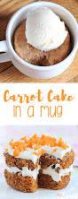 carrot cake in a mug
