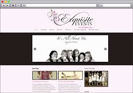 wedding planner packages wedding planner website re design exquisite events