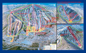 Mammoth Map Trail Map Guides Skiing