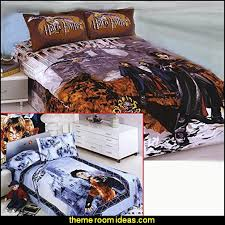 Newsprint Comforter Decorating Theme Bedrooms Maries Manor Harry Potter Themed