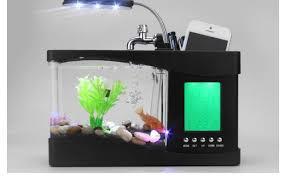 2017 innovative unique home decoration mini usb lamp light fish