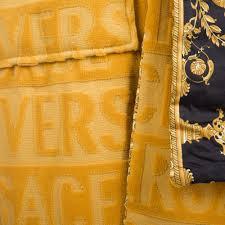 Esszimmerst Le Yellow Versace Barocco U0026robe Bademantel Goldfarben Kaufen Amara