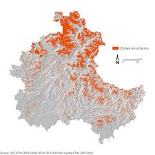 Space Debris Map Regional Scale Mapping Of Debris Flow Susceptibility In The