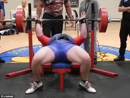 Crush Grip Dumbbell Bench Press Weightlifter Drops 545lbs On His Chest In Failed Benchpress