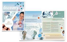 engineering brochure templates free research brochure template design