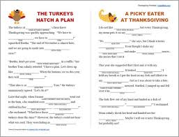 printable thanksgiving mad libs scraplifters