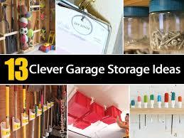 Garage Storage Organizers - 13 clever garage storage ideas ohsimply com