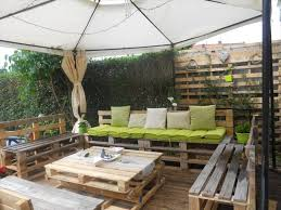 Pallet Patio Furniture Ideas by Pallet Outdoor Furniture Aluminum All Home Decorations