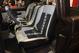 Vintage Ford Truck Seat Covers - tmi products new classic truck seats make a big statement at sema