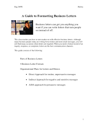 Writting Business Letter by Business Letter Format How To Write A Business Letter Lfxlbwa