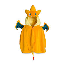 Charizard Halloween Costume Mega Charizard Cape Orange Pokémon Cape Pokémon Center Original