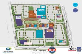 Florida Mall Floor Plan Titus Landing Titusville Fl Shopping Destination On The Space