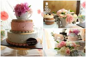 high tea kitchen tea ideas 100 kitchen tea cake ideas pink orange 3 tiered round cake