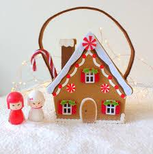 gingerbread house nail polish gift bag