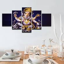 Canvas Home Decor Compare Prices On Abstract Painting Ganesha Online Shopping Buy