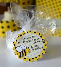 bumble bee birthday party favors bumble bee baby by bcpaperdesigns