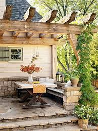Outdoor Ideas For Backyard Maximizing A Small Patio Small Patio Small Patio Furniture And