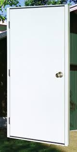 Steel Clad Exterior Doors Steel Doors For Metal Buildings Prehung Utility Service Doors