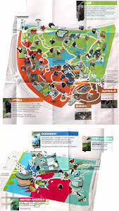 San Francisco Zoo Map by Zoo Gle Rotterdam