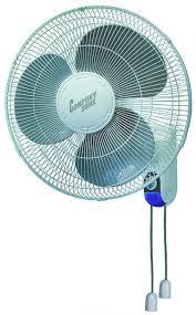 wall mounted rotating fan comfort zone 16 wall mount oscillating fan mightyhydro