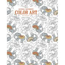 Garden Art For Sale Animal Wonders Color Art For Everyone Coloring Book