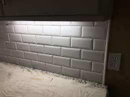 odessa florida beveled subway backsplash installation ceramictec