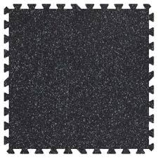 click interlocking excercise rubber tile the home depot