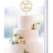 custom wedding cake toppers glittery boho custom wedding cake topper monogram ewft043 as low