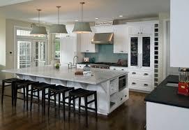 furniture white kitchen island with marbleto features dark stools
