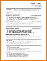 1 Page Resume Sample by 7 Cv Template 1 Page Postal Carrier
