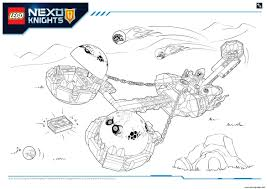 lego nexo knights monster productss 2 coloring pages printable