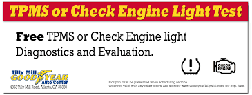 free check engine light test near me coupon for free tpms or check engine light diagnostics dunwoody and