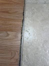 Ceramic Tile To Laminate Floor Transition What Should I Use To Transition From Tiles To Hard Wood Floor