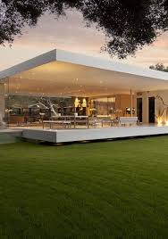 The Most Minimalist House Ever Designed The Glass Pavilion - Modern designer homes