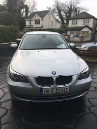 used bmw 5 series 2008 diesel 2 0 silver for sale in dublin