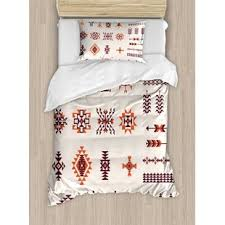 geometric pattern bedding aztec tribal bedding wayfair