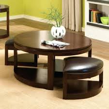 Coffee Table With Stools Underneath Coffee Tables Coffee Table With Four Ottomans Coffee Table With