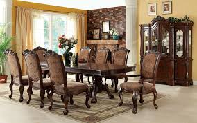 Large Formal Dining Room Tables Formal Dining Room Sets With Goodly Furniture Vendome