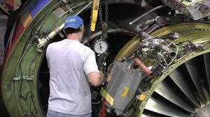 Turbine Engine Mechanic Southwest Airlines 737 Engine Swap Youtube