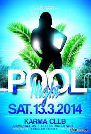 8 best images of pool party poster template pool party flyer