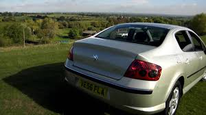 peugeot 407 2007 peugeot 407 1 6 hdi 110 www bransfordgarage co uk youtube