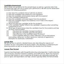 sample high lesson plan 9 documents in pdf word