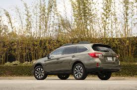 first subaru outback 2015 subaru outback 2 5i limited first test motor trend