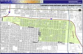 Columbus Zip Code Map by Livingston Avenue Area Commission