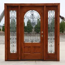 Patio Door With Vented Sidelites by Exterior Doors With Sidelights Wholesale Clearance Wood Doors