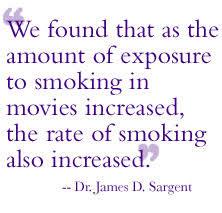 geisel of medicine adolescents who watch smoking in