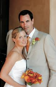 Backyard Weddings San Diego Tropical Backyard Wedding With Bright Citrus Hues In San Diego