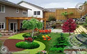 Home Garden with New Kerala Traditional Style Home Gardens