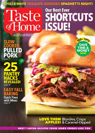 Home Magazine Subscriptions by One Year Subscription To Taste Of Home For 4 95 Through Tomorrow